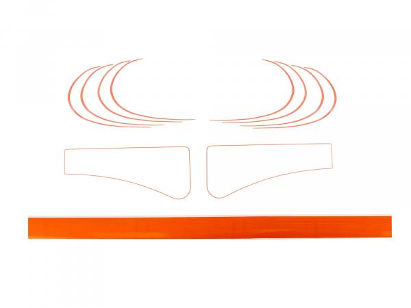 Line set orange (overpaintable) - for Simson SR1