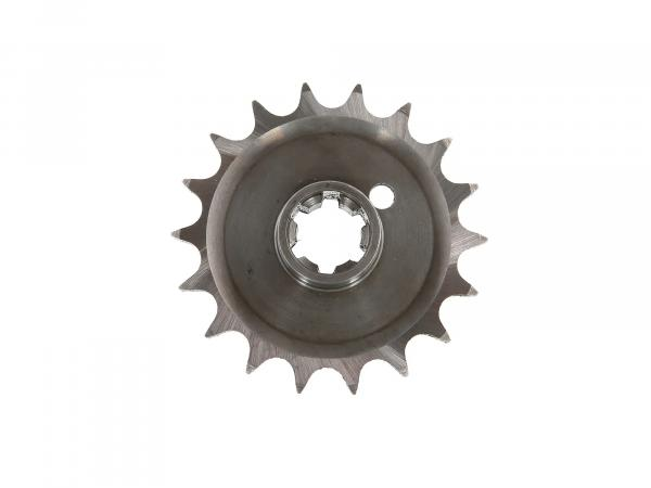 Drive pinion ETZ250, 18 teeth