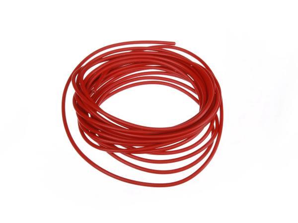 Elektrokabel Q 1,5mm, Länge: 5m, Rot
