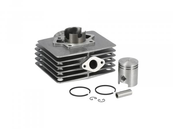 Set: Cylinder with piston, 60ccm, ball polished - Simson S51, KR51/2 Schwalbe, SR50