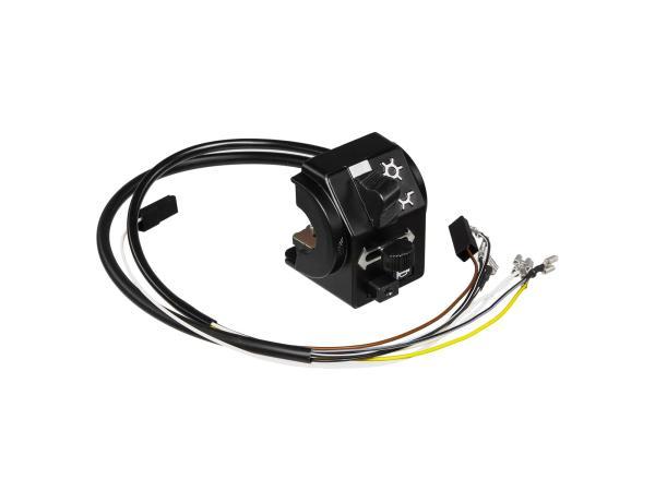 Schalterkombination 8626.19/9 + 19/10 mit Kabel, ohne Lichthupe, 12V - Simson SR50, SR80