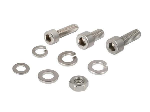 ST10001250 Stückliste - Set: Zylinderschrauben, Innensechskant in Edelstahl für Scheinwerfergehäuse S50, S51, S53, S70, S83 - Bild 1