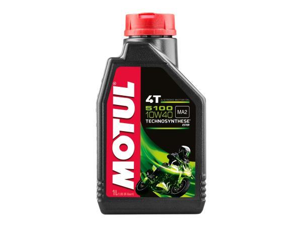 MOTUL 5100 4T  4-Takt Motorradöl 10W-40 HD - 1 Liter