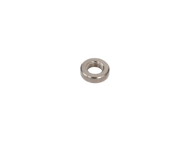 10016783 Ventilmutter - Rändelmutter aus Metall - Bild 1