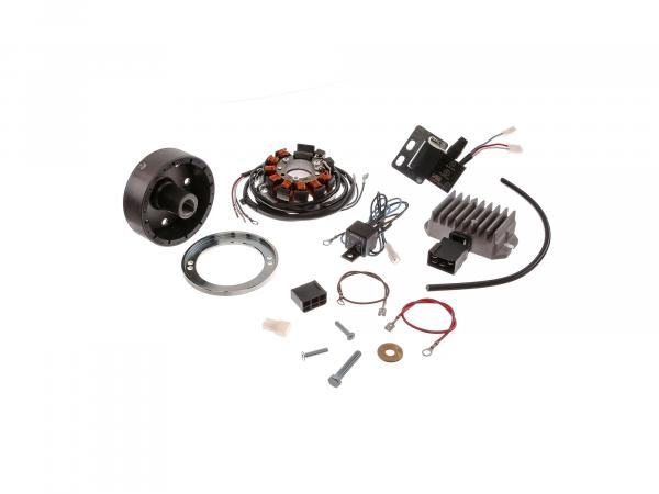 Alternator + ignition system ES, ETS, TS125, TS150 6V 75W