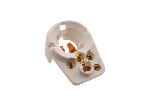 Lamp socket, bulb holder e.g. for BK350