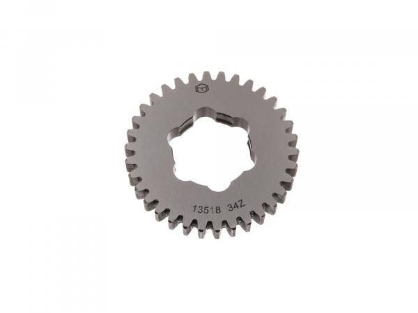 idler gear 34 tooth, 4th gear (5-speed gearbox) - Simson