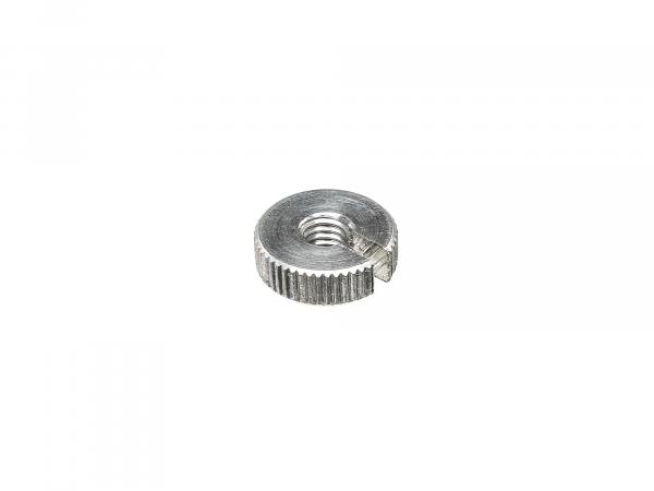 Knurled nut for adjusting screw Bowden cable - Simson S51, S50, SR50, Schwalbe KR51, SR4