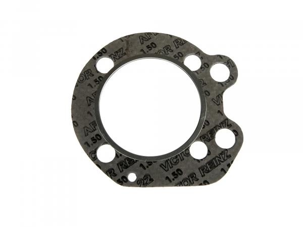 Cylinder head gasket, with reinforced inner ring, aluminium - suitable for AWO 425S - with bearing ring (Brand: PLASTANZA / Material AFM22)