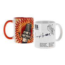 Becher, Gläser, Tassen