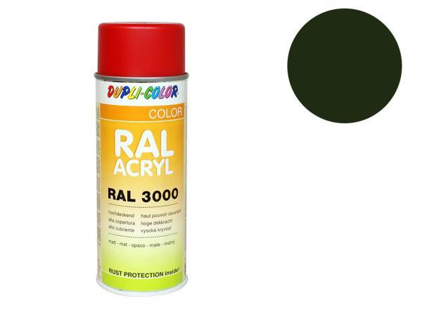 Dupli-Color Acryl-Spray RAL 6031 bronzegrün, matt - 400 ml