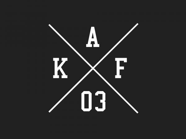 """10069151 Aufkleber - """"Kreuz AKF 03"""" Folienplot Weiß, mit Übertragungsfolie - Bild 1"""