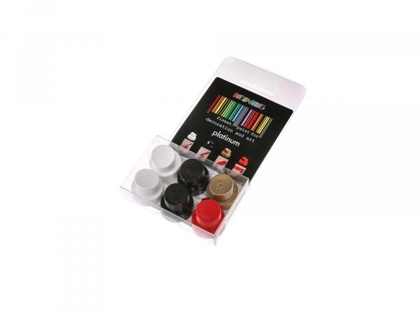 Dupli-Color-SK Platinum spray head set, 6 pieces