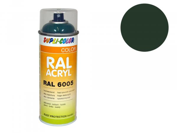 Dupli-Color Acryl-Spray RAL 6020 chromoxidgrün,  glänzend - 400 ml