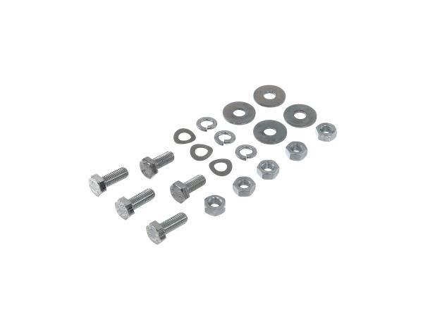 Set: hexagonal bolts mudguard,mudguard S51,S70 Enduro