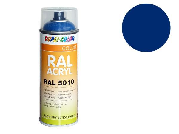 Dupli-Color Acryl-Spray RAL 5011 stahlblau, glänzend - 400 ml