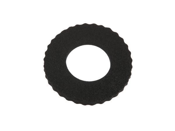 10016652 Tankschutzring aus Moosgummi - für Moped (120 x 60) Schwarz - Bild 1