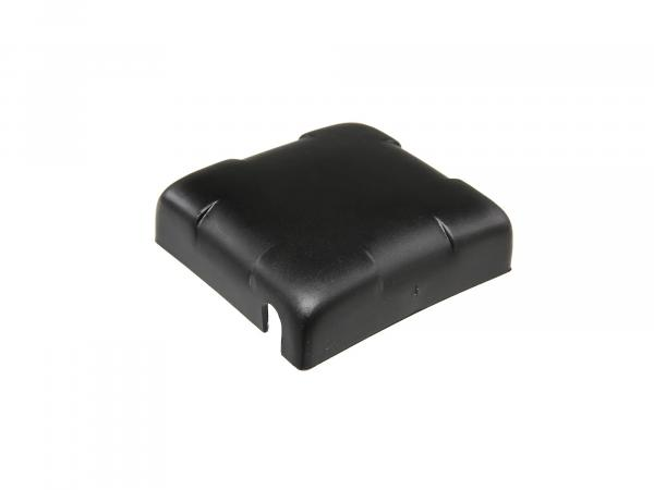 Battery cover for classic car battery, black