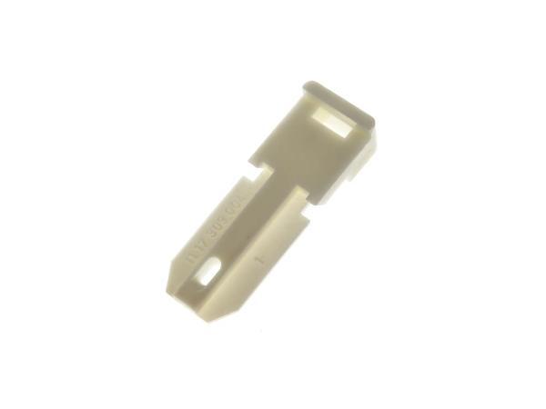 10000871 Spanner Plastik weiß für Scheinwerfer Simson S53, S83 - Bild 1