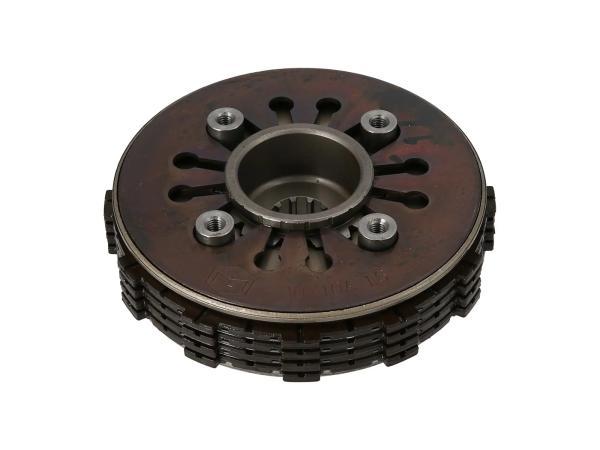 10069485 Kupplungspaket 4-Lamellen 1,6 mm - für Simson S51, KR51/2 Schwalbe, SR50 - Bild 1