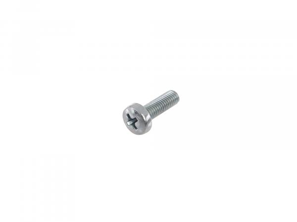 Oval head screw, cross recess M5x16 - DIN7985