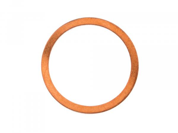 Sealing ring Ø28x34 A (copper) flat