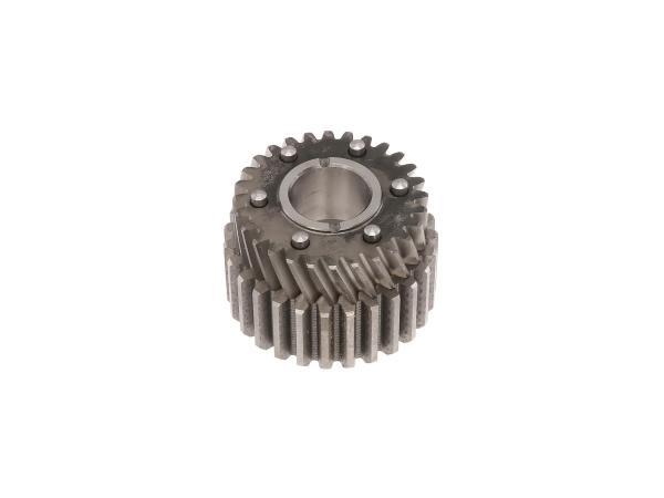 10056147 Antriebsrad mit inneren Mitnehmer 27/28 Zahn (Motor) TS250/1, ETZ250, ETZ251, ETZ301 - Bild 1