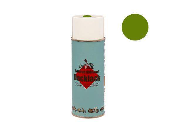 Spray can Leifalit top coat Caprigrün - 400ml