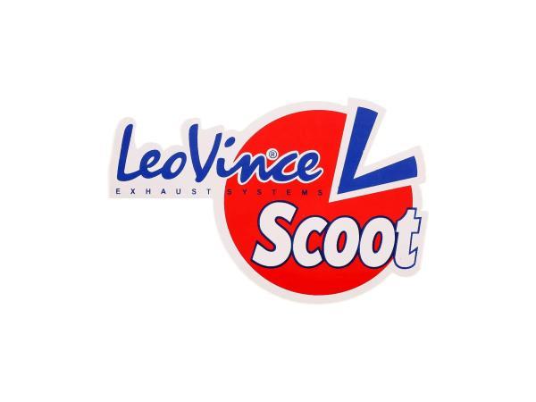 10065281 Aufkleber - Scoot, LeoVince Exhaustsystems - Bild 1