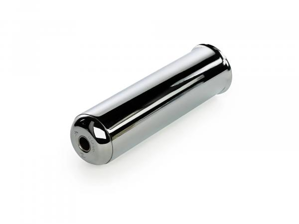 Exhaust - End piece chrome, with damping insert - Simson S50, S51, KR51 Schwalbe, et al.