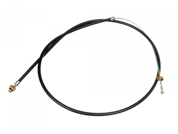 Brake cable front, black - for BK350