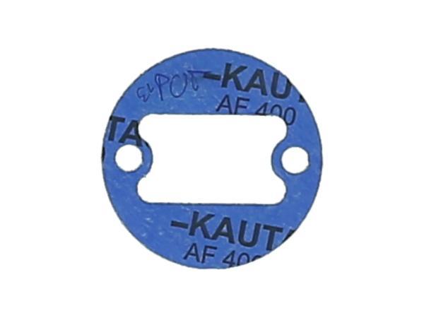 10069213 Dichtung aus Kautasit 0,5mm stark für Deckel zum Kupplungsdeckel - für Simson S50, Schwalbe KR51/1, SR4 Vogelserie, SR1, SR2, KR50 - Bild 1