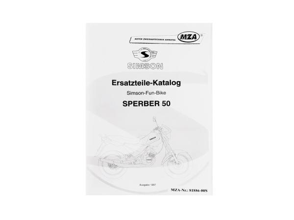10004070 Ersatzteilkatalog MS Sperber 50 Ausgabe 1997 - Bild 1