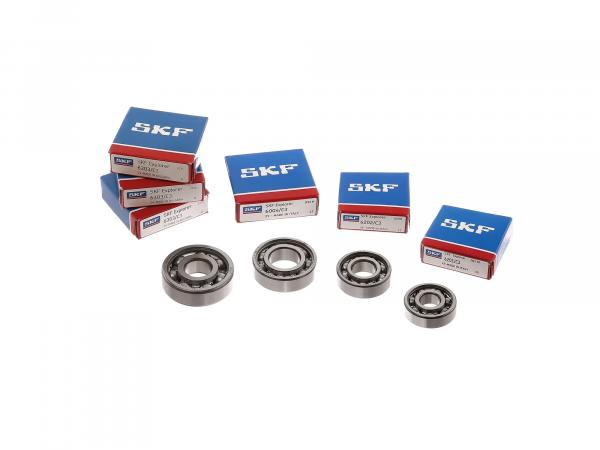 Set: Ball bearing motor, 6 pieces - RT125/3