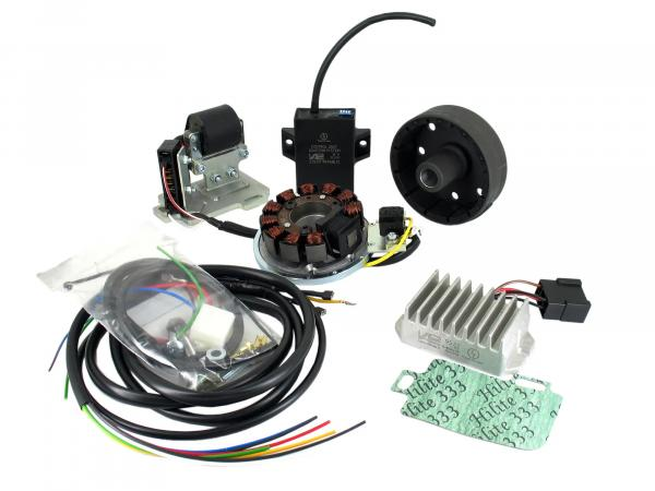 alternator and ignition system suitable for AWO conversion 6 to 12V