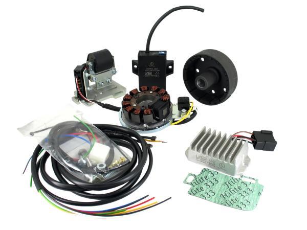 Lichtmaschine und Zündanlage passend für AWO Umbau 6 auf 12V