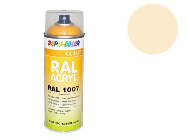 Dupli-Color Acryl-Spray RAL 1015 hellelfenbein,  glänzend - 400 ml