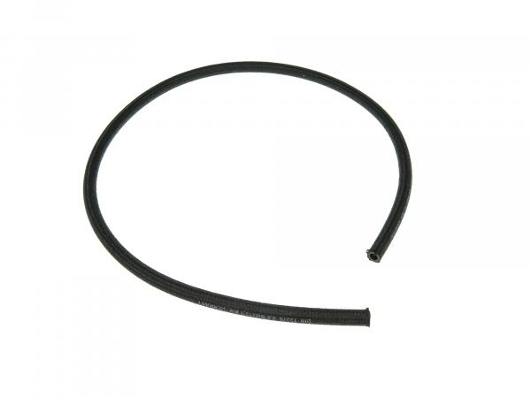 Benzinschlauch NAFTREX B, textilumflechtet, Schwarz, 1 Meter, Ø 8x13mm