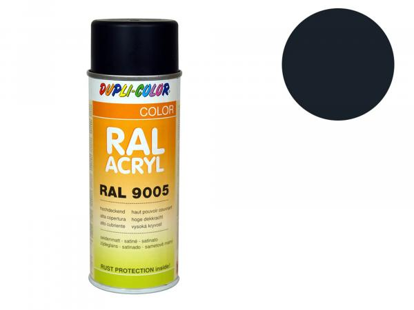 Dupli-Color Acryl-Spray RAL 7021 schwarzgrau, seidenmatt - 400 ml