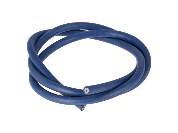 10069879 Zündkabel Silikon, Blau - 1m - Bild 1