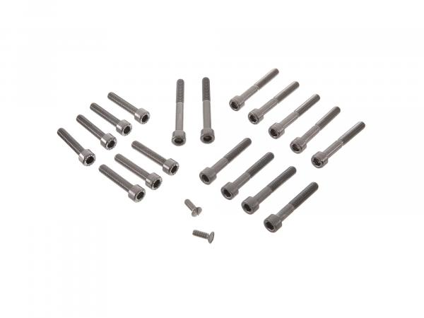 Set: Zylinderschrauben, Innensechskant Motor in Edelstahl S50