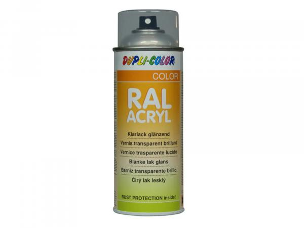 Dupli-Color acrylic spray clear lacquer, glossy - 400 ml