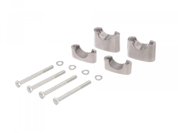 Set: handlebar rest lower + upper - for Simson S50, S51, S70, Enduro