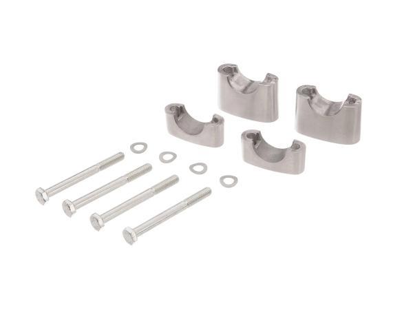 10058762 Set: Lenkerauflage untere + obere - für Simson S50, S51, S70, Enduro - Bild 1