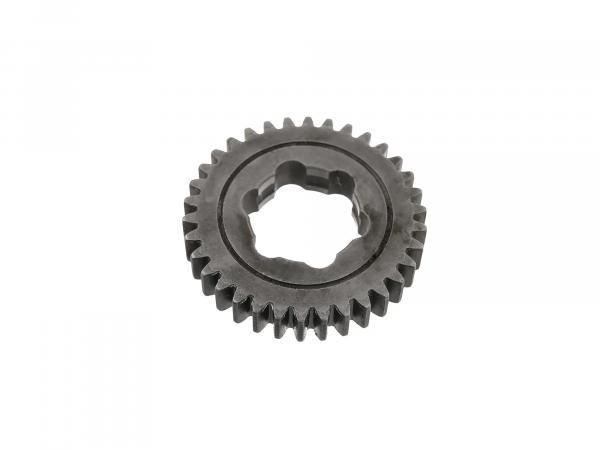 idler 34 tooth, last gear (3-speed and 4-speed engine) - Simson S51, KR51/2 Schwalbe