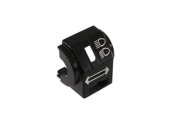 Gehäusehälfte hinten für Schalterkombination - für Simson S51, S70, S53, S83, SR50, SR80 - MZ ETZ