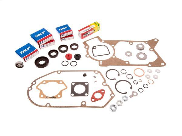 10067916 Set: Motorregenerierung - für Simson S51, S70, S53, S83, KR51/2 Schwalbe, SR50, SR80, MS50, DUO 4/2 - Bild 1
