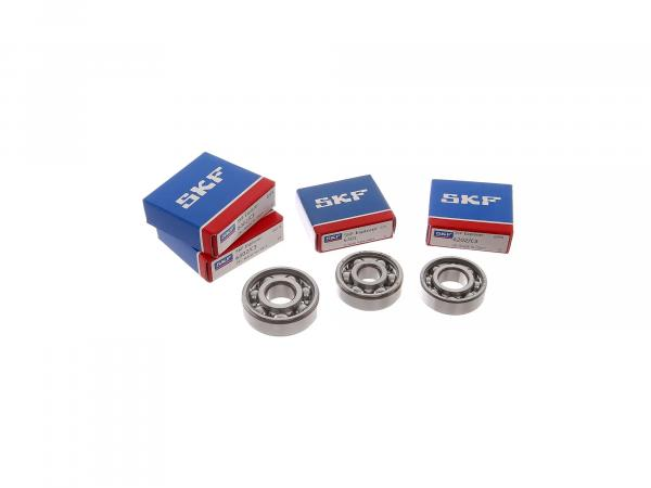 Set: Ball bearing motor, 4 parts - Simson SR4-1 Spatz P/K, SR1, SR2, KR50