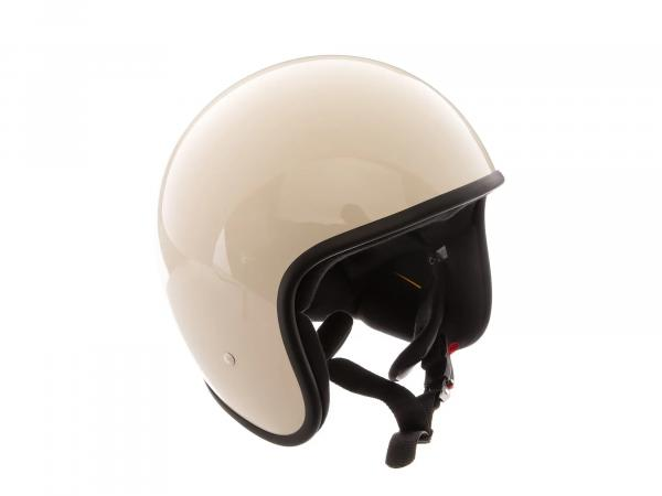 "10068594 ARC Helm ""Modell A-611"" Retrolook - Altweiß - Größe M (57-58cm) - Bild 1"