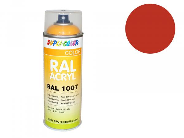 Dupli-Color Acrylic Spray RAL 2001 red orange, glossy - 400 ml